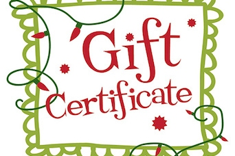 Tis' the Season: BOE Gift Certificates for the Holidays